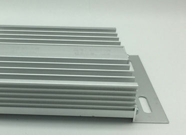 Mill Finished 6063 / 6061 Aluminum Extrusion Enclosure With Cutting / Drill / Punching