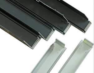 Silvery Alloy Mounting Aluminum Solar Panel Frame High Accuracy
