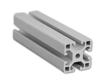 China T-Slotted Industrial Aluminium Profile Electrophoretic Coated For Bending Cutting supplier