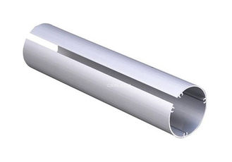 Customized Shaped Anodized Aluminum Tube Round With Cutting / CNC Machining