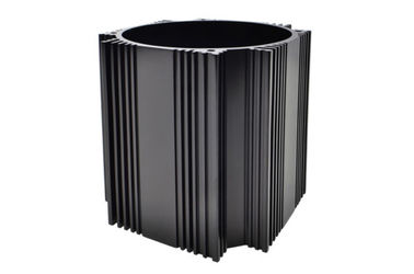 China custom Black Anodized Aluminium Cylinder Shell Aluminum Cylinder ISO9000 supplier