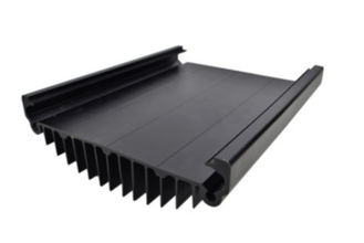 China Black Anodized Aluminum Extrusions For Electronics / Electrical Cover supplier
