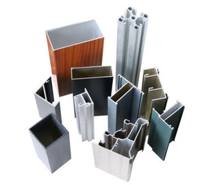 China Powder Painting Construction Aluminum Profile Customized Sections supplier