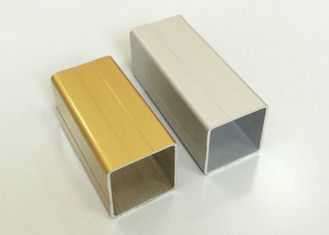 China Anodized / Powder Painting Aluminum Extrusin Profile / Square Shape / CNC Deep Processing supplier