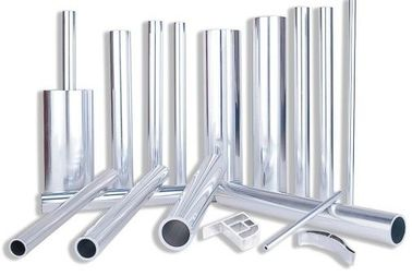 China Clear Extruded Anodized Aluminum Tube , OEM Bronze Standard Aluminum Extrusion supplier