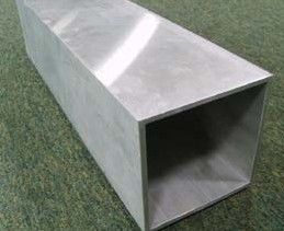 China Industrial Mill Finished Aluminum Extrusion Rectangular Tube For Motor Shell supplier