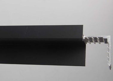 China Black Anodized Aluminum Solar Panel Frame 6063 - T5 With Customized Size supplier