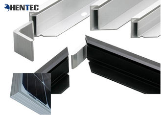 China 6063- T5 Anodized Aluminum Frame With Screw Connection / Conner Joint supplier