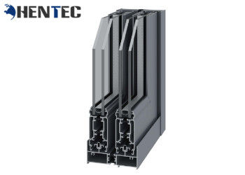 China 6063 T5 Powder Painted Aluminium Window Frame Profiles For Sliding Window supplier