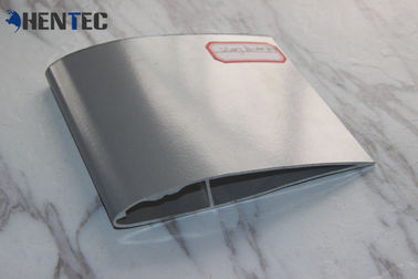 China Silvery Color Ceiling Fan Blades Aluminium Extruded Profiles With Cutting / Drilling supplier