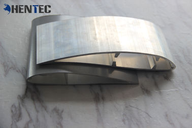 China 6063 Industrial Fan Blade Aluminum Extrusion Profile For Cooling Blade supplier