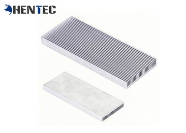 China Silvery Anodized Extruded Aluminium Heatsink Aluminum Radiator Special Packing supplier