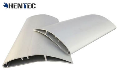China Anodised Fan Blade Aluminium Industrial Profile Extrusions High Volume Low Speed supplier