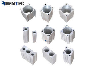 China Cylinder Pump Body Industrial Aluminium Profile , Aluminum Extruded Sections supplier