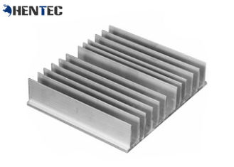 China 6063 Alloy Alodine Aluminum Heatsink Extrusion Profiles With CNC Machining supplier