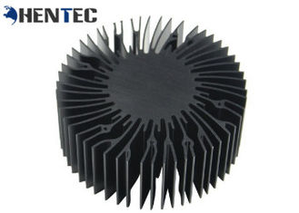 China Custom Made Extruded Aluminum Heatsink Profiles For High Power Led Light supplier