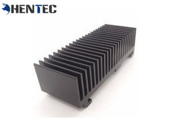 China Black Anodised Aluminum Heatsink Extrusion Profiles ISO Quality Assurance supplier
