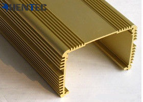 China Anodized Aluminum Extrusions For Electronics , With Finished Machining supplier