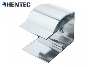 Powder Painting Square Shape Extruded Profiles Aluminium CNC Deep Processing