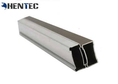China 6063 / 6061 Aluminum Extrusion Profile With Cutting / Drilling / CNC Machining supplier