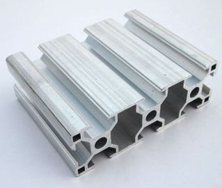 China 6005 / 6063 T5 Extruded Aluminum Framing , Assembly Line Profile For Electromechanical Parts supplier
