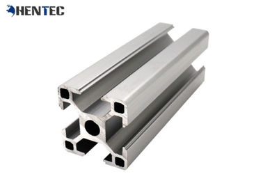 China Anodize Industrial Aluminium Profile System T Slotted Extruded Aluminum Framing supplier
