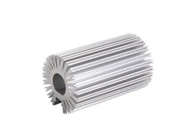 China Durable Silvery Anodized Aluminum Heatsink Extrusion Profiles For Led Light supplier