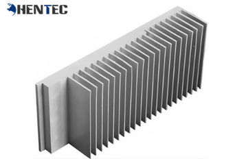 China Alodine Aluminum Heat Sink Extrusion , Standard Extrusion Profiles With CNC Machining supplier
