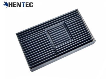 China Silvery Anodised Aluminum Heatsink Extrusion Profiles For Led Lamp / Machine supplier