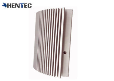 China Silvery Anodized Aluminum Heatsink Extrusion Profiles With CNC Machining supplier