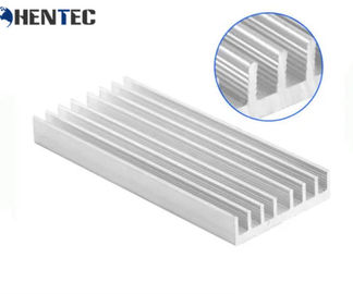 China Customized Aluminum Extruded Heat Sink Profiles For For High Power Led Lamp supplier