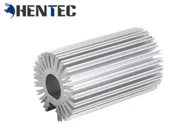 China T6 Led Light Aluminum Heatsink Extrusion Profiles For Led Lighting / Machine supplier
