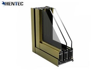 China Silding / Casement Aluminum Window Extrusion Profiles Customized Metal Window Frames supplier