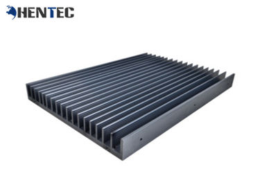 Longlife Anodized Aluminium Extrusion Heat Sink Profiles Black Color 6063 Alloy