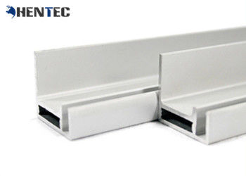 China Durable Anodized Aluminum Profile For Solar Panel With Screw Joint / Corner Key Joint supplier