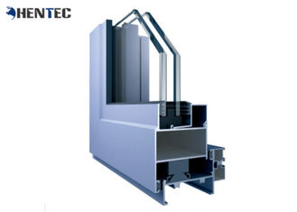 China Powder Coating Aluminium Window Extrusion Profiles For Silding / Casement Window supplier