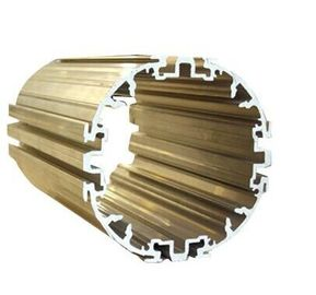 Powder Painted Industrial Extruded Aluminium Profiles , 6063-T5 Electromechanical Shell