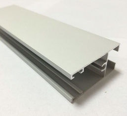 China White Powder Painted Aluminum Extrusion Profiles For Sliding Door supplier