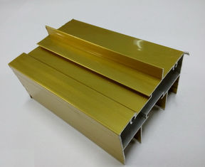 China Electrophoresis Aluminum Door Extrusions For Sliding Door Window supplier