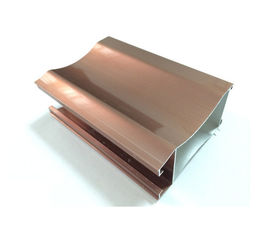 China Door Window Aluminum Door Extrusions Mill Finished , Electrophoretic Coated supplier