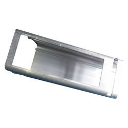 China Industrial Aluminum Extrusions For Electronics Mill Finished / Anodized supplier