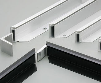 China Anodize Aluminum Extrusion Profiles 6063 T5 For Solar Panel Frame supplier