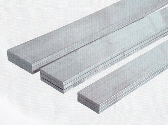 6061 t6 extrusion aluminum flat bar steel polished pvdf for Painting anodized aluminum