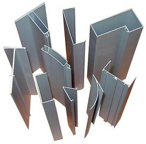 Aluminum Mullion Extrusions : Anodize aluminum extrusion curtain wall profile for