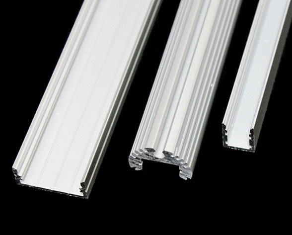 6063 T5 Aluminum Extrusion Channel With Pvdf Powder