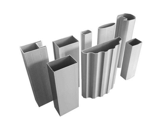 Industrial aluminum extrusion rectangular tube aluminium
