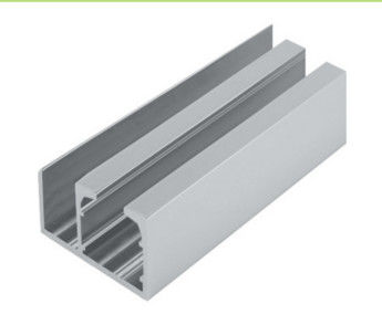 Aluminum Window Extrusion Profiles  Sliding Glass Door Channel Door Bottom Twin Track  sc 1 st  Industrial Aluminium Profile u0026 Aluminum Heatsink Extrusion Profiles & Aluminum Window Extrusion Profiles  Sliding Glass Door Channel Door ...