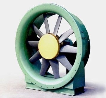 High Speed T5 Industrial Exhaust Fan Blade Small For Ac Motor