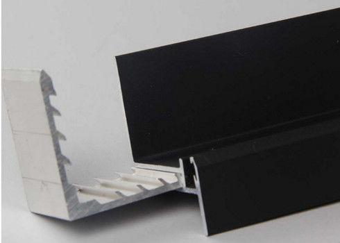 Black Anodized Aluminum Solar Panel Frame Oem Aluminium