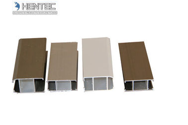 buy Bronze Aluminium Extrusion Shapes , Extruded Aluminium Profile OEM online manufacturer